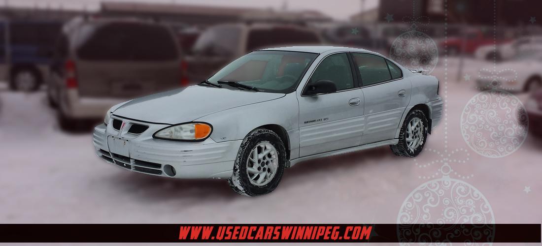 Used 2001 Pontiac Grand Am For Sale In Winnipeg