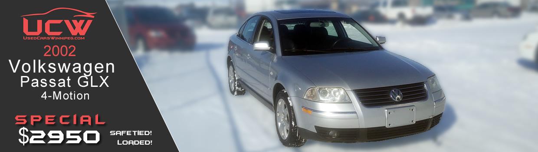 2002 Volkswagen Passat 4-motion