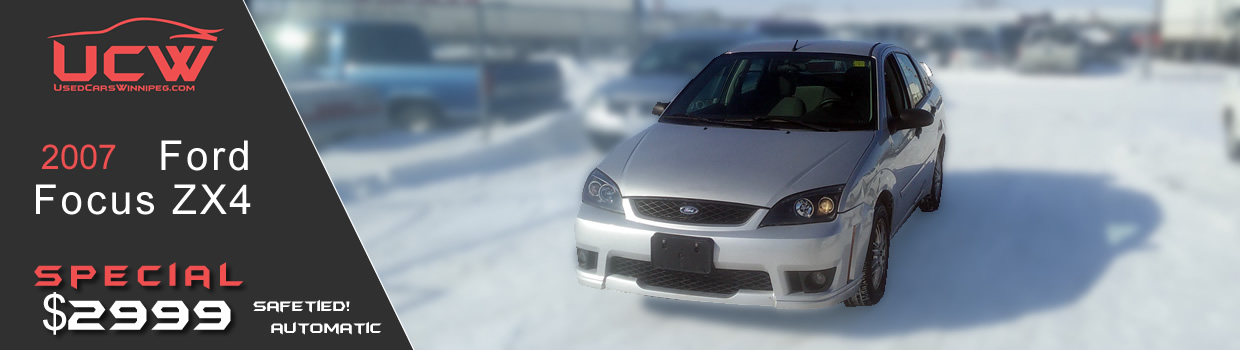 2007 Ford Focus ZX4