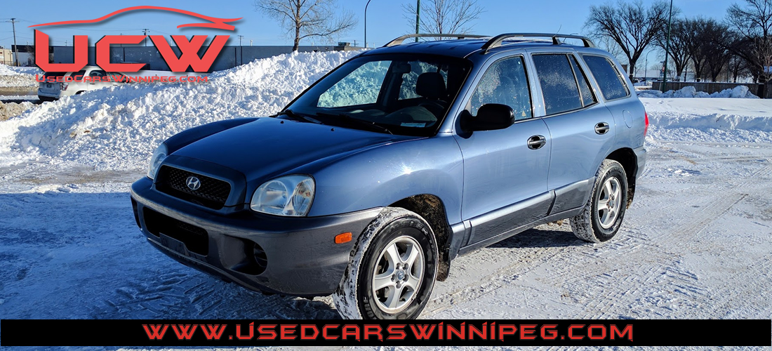 2003 hyundai santa fe gl used cars winnipeg. Black Bedroom Furniture Sets. Home Design Ideas