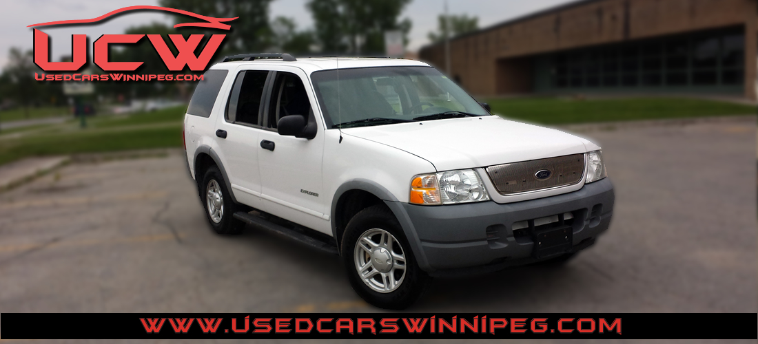 Ford Explorer XLS X Used Cars Winnipeg - 2002 explorer