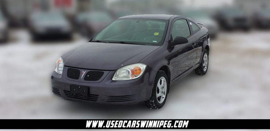 2006 Pontiac Pursuit G5 4 cylinder for sale in Winnipeg at Used Cars Winnipeg